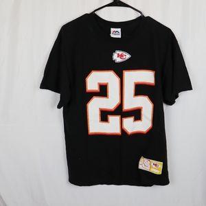 KC Chiefs Jaamal Charles 25 Shirt Size Large